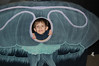 Now that's a Moon Jelly I've never seen before!